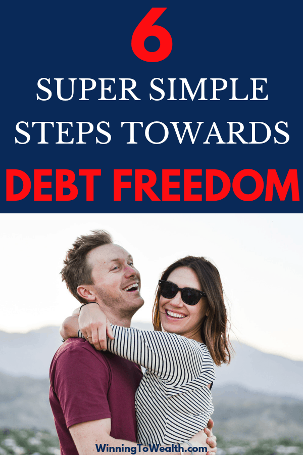 Wanting to pay off your debt but don't know where to start? Tap the photo to get 6 super simple steps towards debt freedom today.