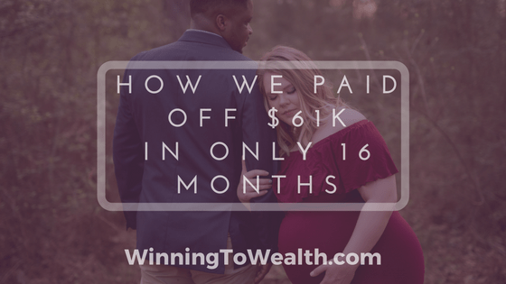 How We Paid Off $61,000 Worth of Debt In 16 Months