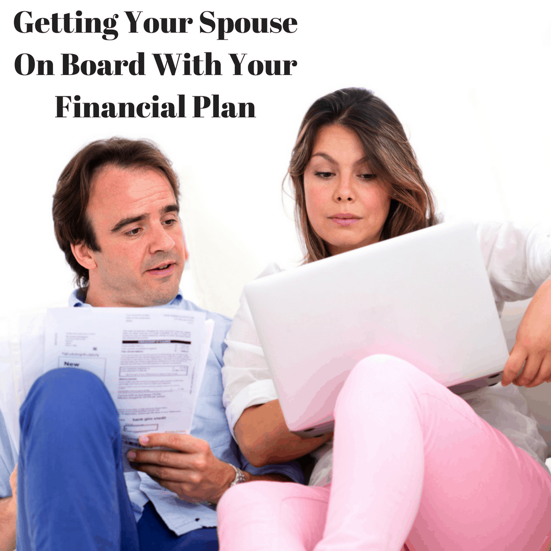 How To Get Your Spouse On Board With paying off debt | create a budget | living on a budget | get out of debt | pay off debt | save for retirement | zero-based budget | dave ramsey