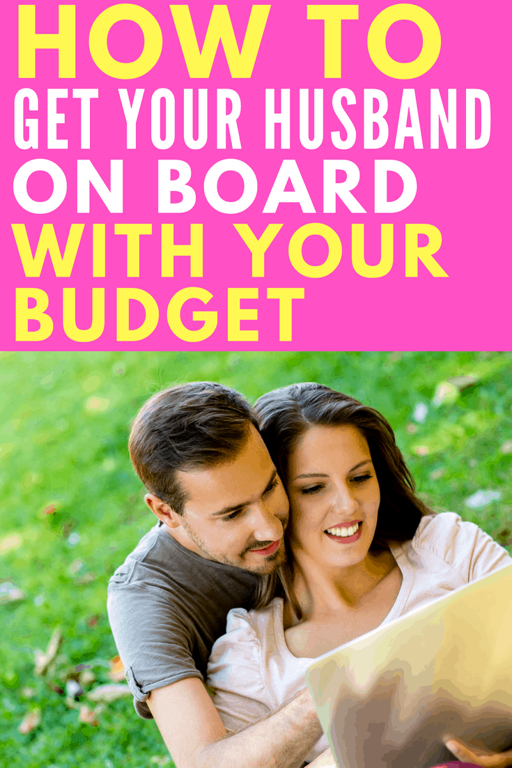 How To Get Your Husband On Board With paying off debt | create a budget | living on a budget | get out of debt | pay off debt | save for retirement | zero-based budget | dave ramsey