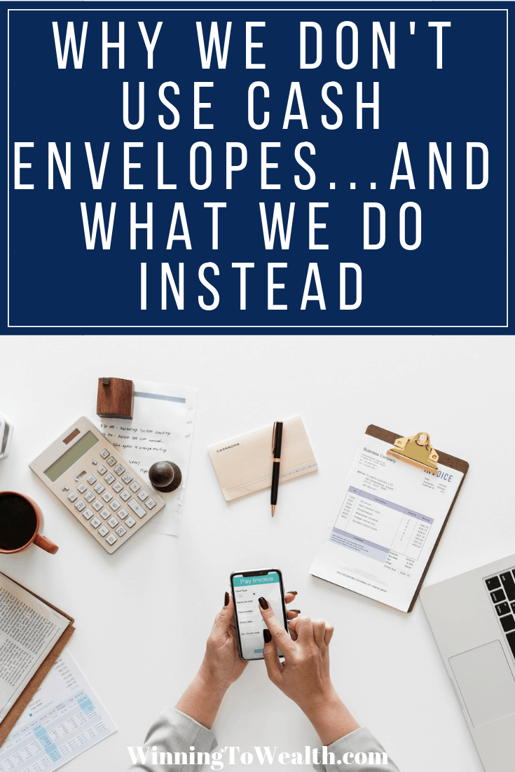In this post, you'll learn why I personally don't use the cash envelope system. If you've struggled to budget with cash envelopes, you just may find what I personally do to be more beneficial for you.