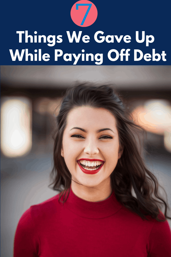 Looking to pay off your debt? Learn some of the things you may have to sacrifice when you start paying off student loans, paying off credit cards, or even paying off a car early.